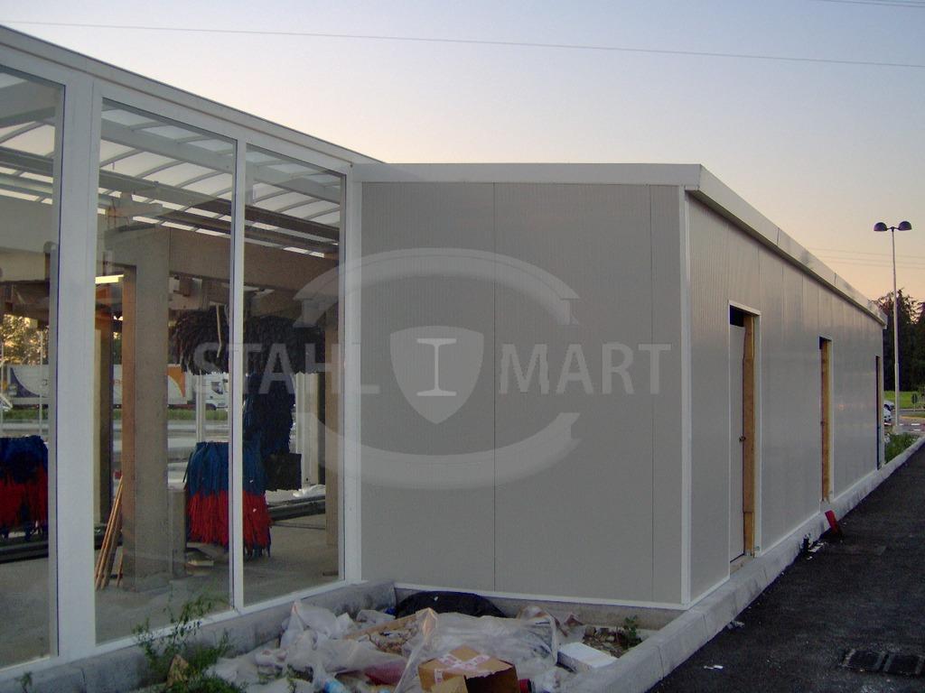 constructions en acier pour lavage auto stahlmart. Black Bedroom Furniture Sets. Home Design Ideas